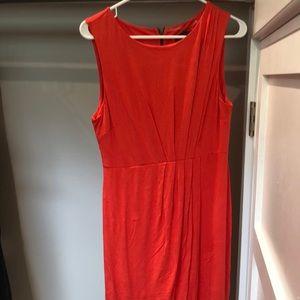 Mossimo orange dress.